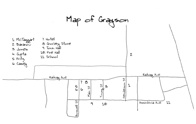 Grayson Map
